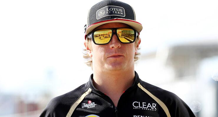 Kimi Räikkönen Formel 1 2012