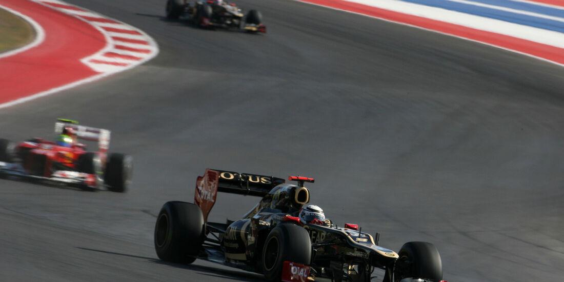 Kimi Räikkönen Formel 1 Austin GP USA 2012