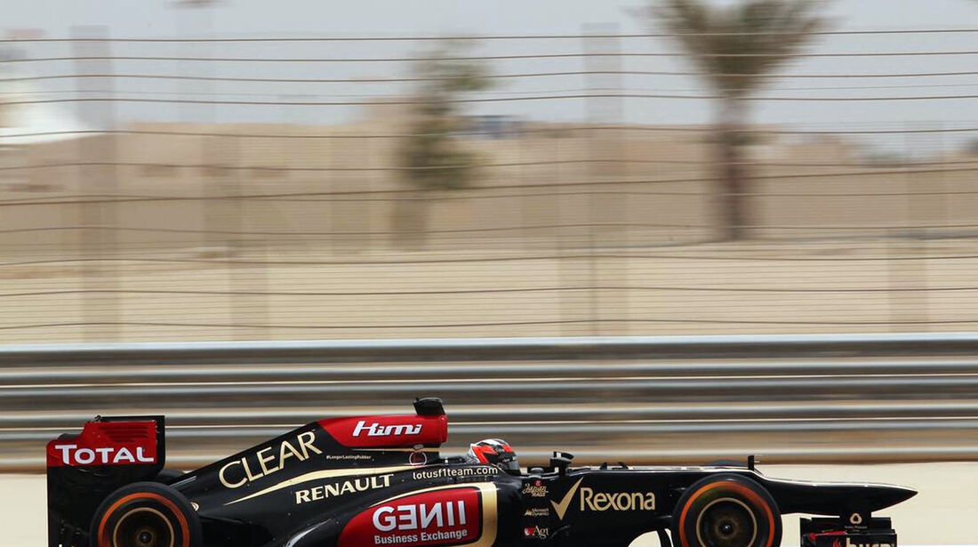 Kimi Räikkönen - Formel 1 - GP Bahrain - 20. April 2013