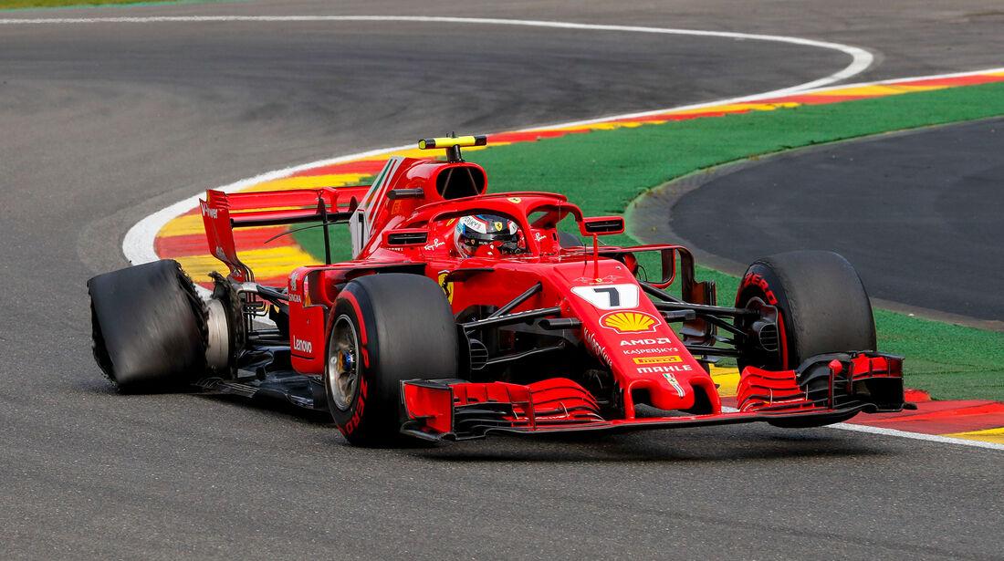 Kimi Räikkönen - Formel 1 - GP Belgien 2018