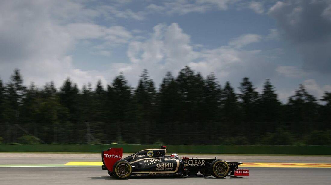 Kimi Räikkönen - Formel 1 - GP Deutschland - 21. Juli 2012