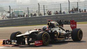Kimi Räikkönen - Formel 1 - GP Indien - 27. Oktober 2012