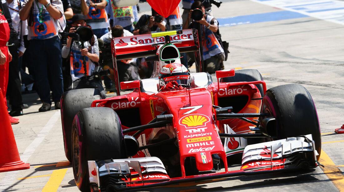 Kimi Räikkönen - Formel 1 - GP Österreich - 2. Juli 2016