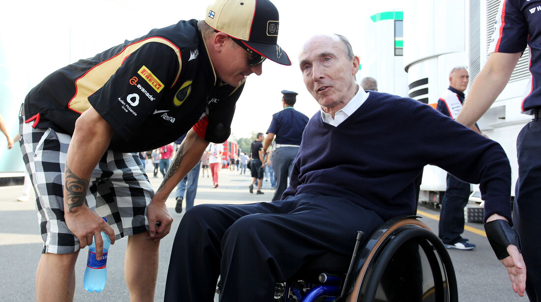 Kimi Räikkönen & Frank Williams - Formel 1 - GP Italien - 6. September 2013