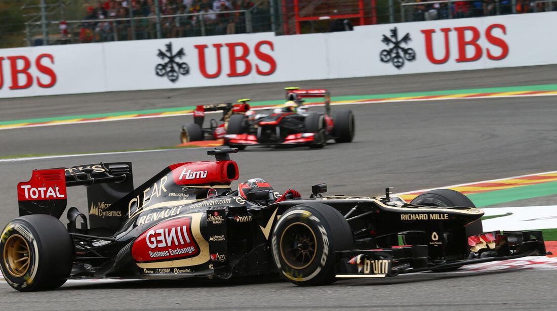 Kimi Räikkönen - GP Belgien 2013