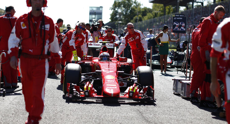 Kimi Räikkönen - GP Italien 2015