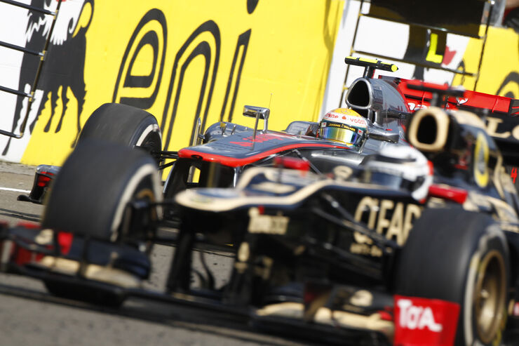 Kimi Räikkönen GP Ungarn 2012