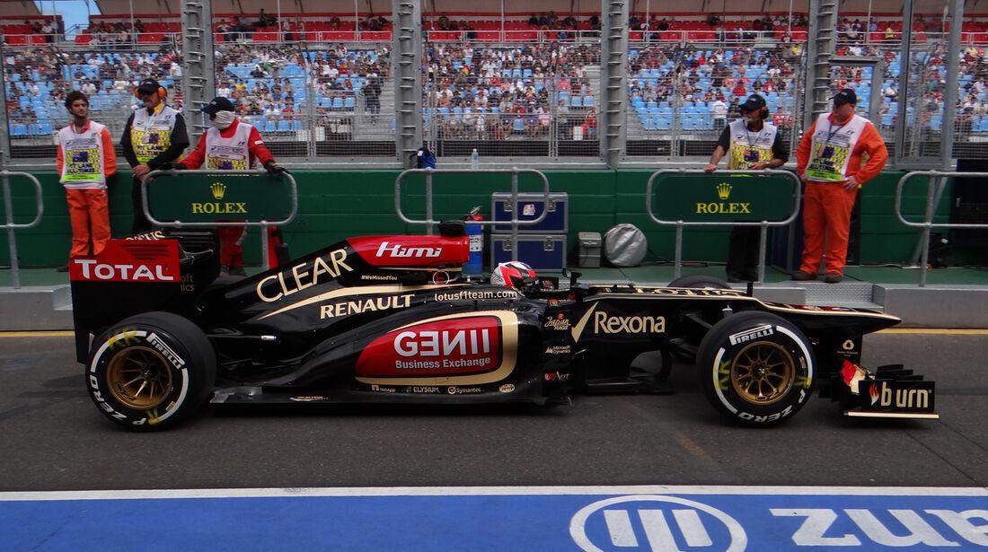 Kimi Räikkönen - Lotus - Formel 1 - GP Australien - 15. März 2013