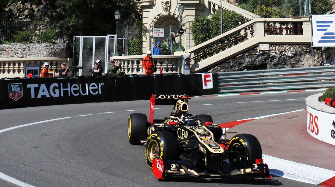 Kimi Räikkönen - Lotus - Formel 1 - GP Monaco - 24. Mai 2012