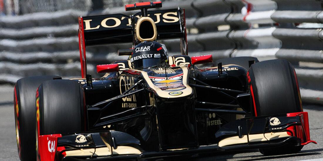 Kimi Räikkönen - Lotus - Formel 1 - GP Monaco - 26. Mai 2012