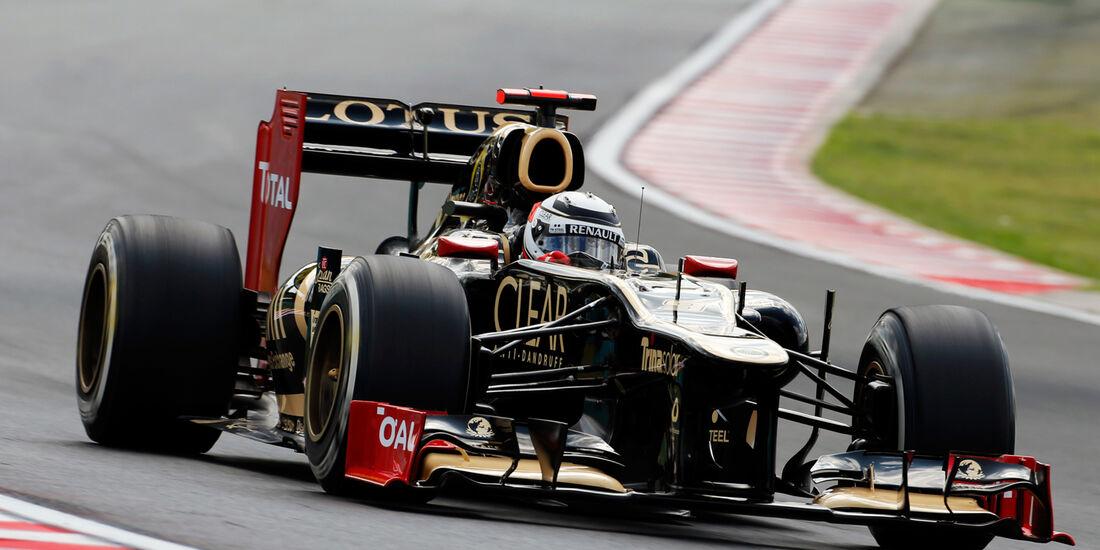 Kimi Räikkönen - Lotus - Formel 1 - GP Ungarn - Budapest - 27. Juli 2012
