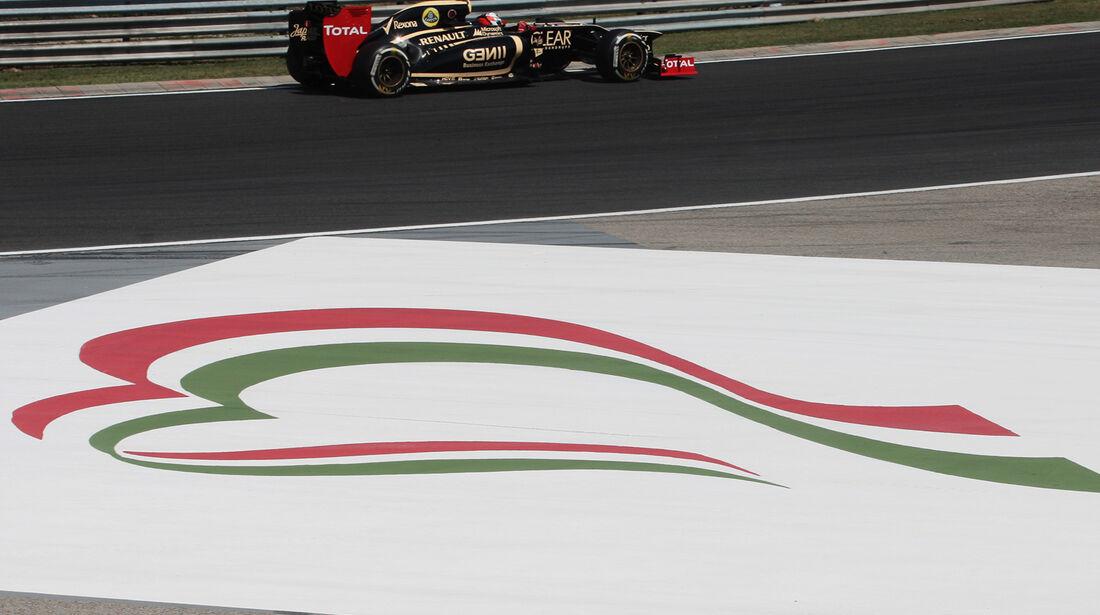 Kimi Räikkönen - Lotus - Formel 1 - GP Ungarn - Budapest - 28. Juli 2012