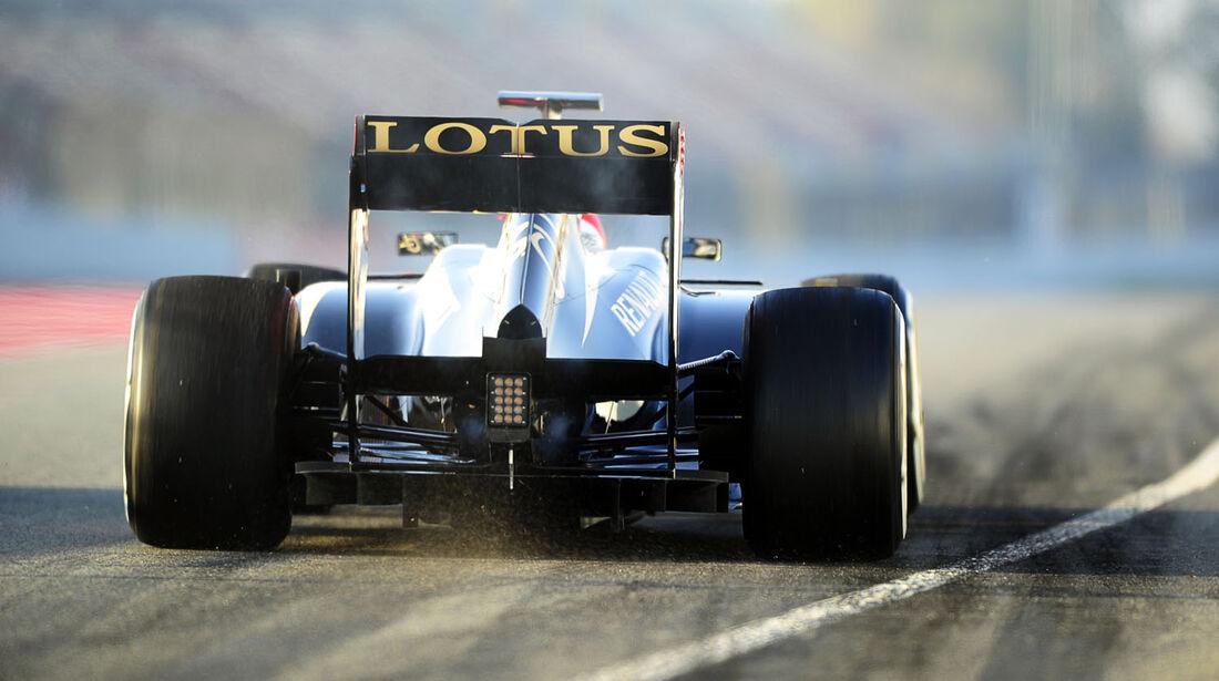 Kimi Räikkönen, Lotus, Formel 1-Test, Barcelona, 20. Februar 2013