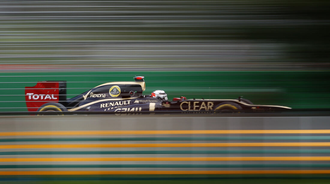 Kimi Räikkönen Lotus GP Australien 2012