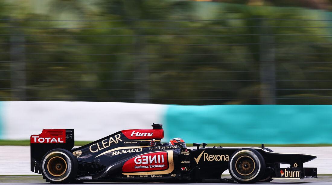 Kimi Räikkönen - Lotus - GP Malaysia - 23. März 2013