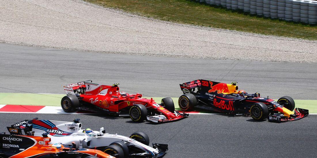 Kimi Räikkönen - Max Verstappen - Formel 1 - GP Spanien - 14. Mai 2017