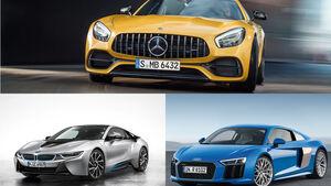 Klassenvergleich Audi BMW Mercedes 2016/17