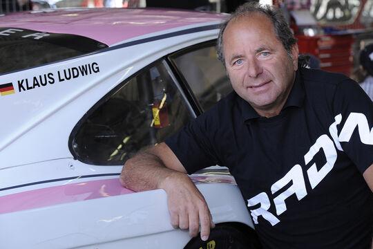 Klaus Ludwig bei dem AvD Oldtimer Grand-Prix 2010