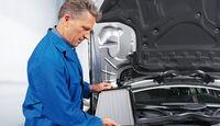 Klimaanlagen-Wartung, Check, Service
