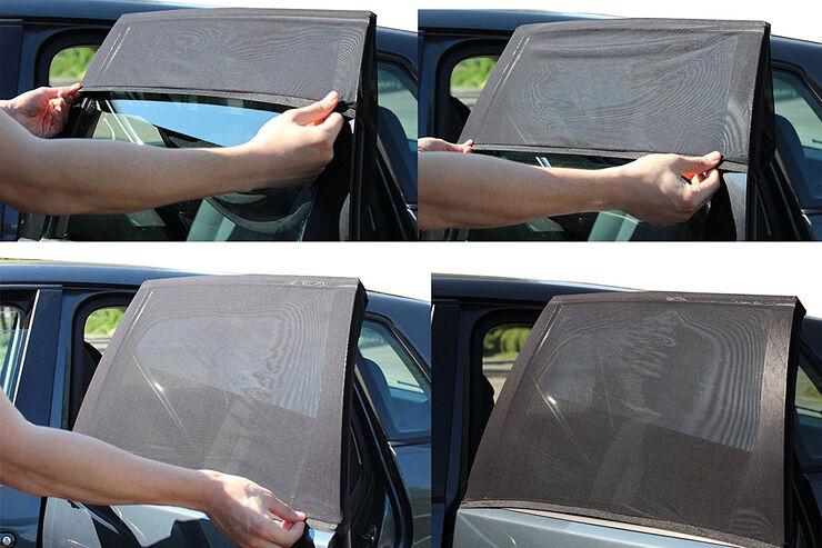 hitze sonnenschutz im auto auto zubeh r f r sommertage. Black Bedroom Furniture Sets. Home Design Ideas
