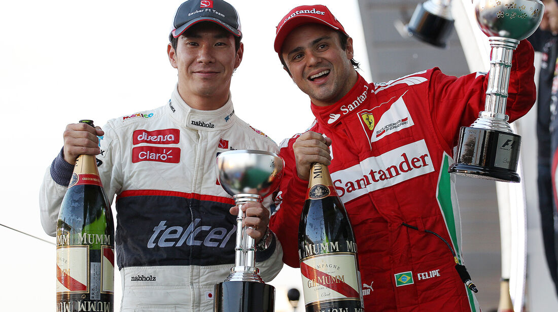 Kobyashi & Massa GP Japan 2012