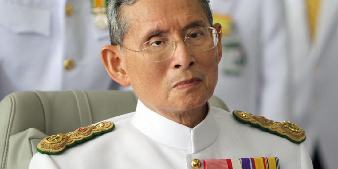 König von Thailand Bhumibol-Adulyadej