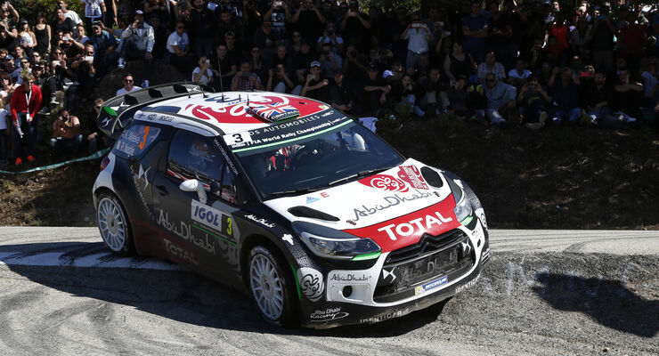 Kris Meeke - WRC - Rallye Frankreich - Tour de Corse - Korsika - 2015
