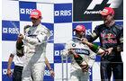 Kubica - Heidfeld - Coulthard - GP Kanada 2008