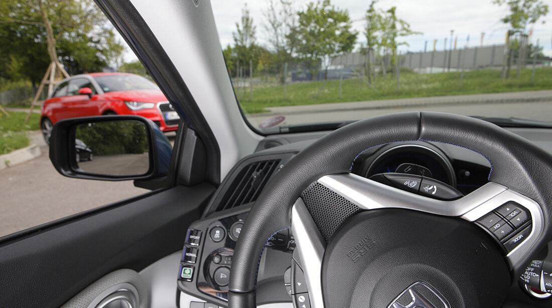 Kurvensicht, Honda CR-Z