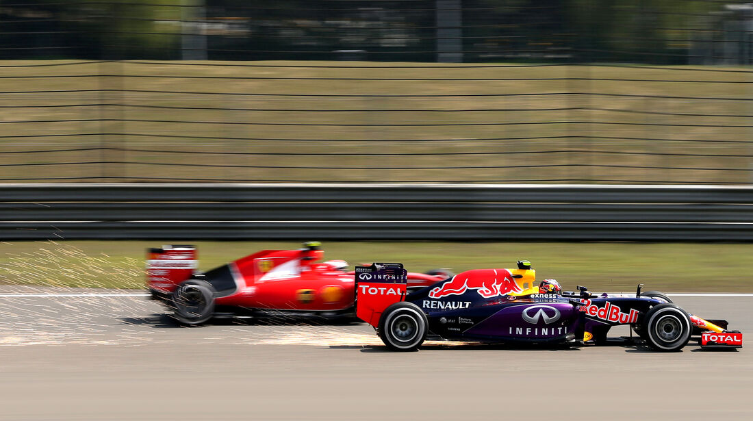 Kvyat & Räikkönen - Formel 1 - GP China - Shanghai - 10. April 2015