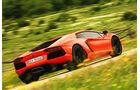 Lamborghini Aventador LP 700-4, R¸ckansicht, ‹berland