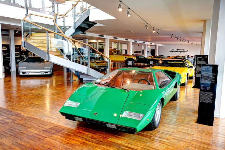Lamborghini Countach - Lamborghini Museum - Sant'Agata Bolognese
