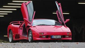 Lamborghini Diablo, Scherentüren