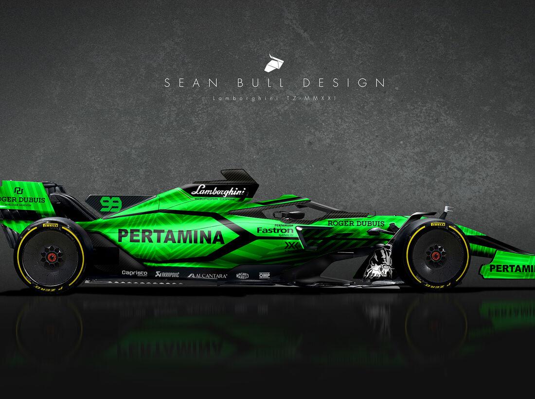 Formel 1 Wagen 2021