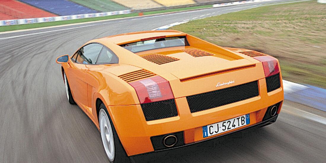 Lamborghini Gallardo Coupé, Heckansicht
