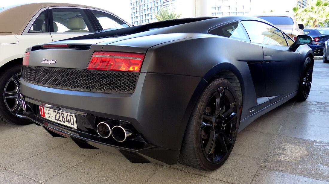 Lamborghini Gallardo - F1 Abu Dhabi 2014 - Carspotting