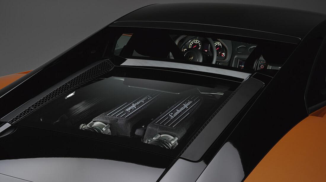 Lamborghini Gallardo LP 560-4 Bicolore, Motor