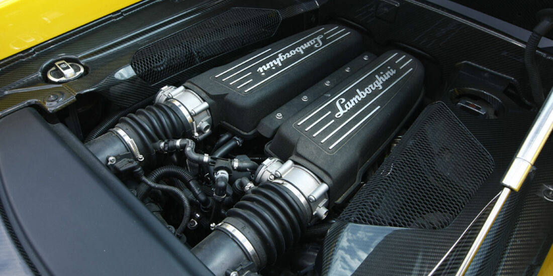 Lamborghini Gallardo SL, Motor