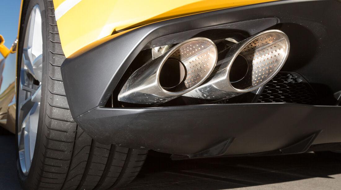 Lamborghini Huracán LP 610-4, Auspuff, Endrohr