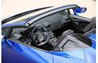 Lamborghini Huracán Spyder, Cockpit