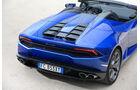 Lamborghini Huracán Spyder, Heck