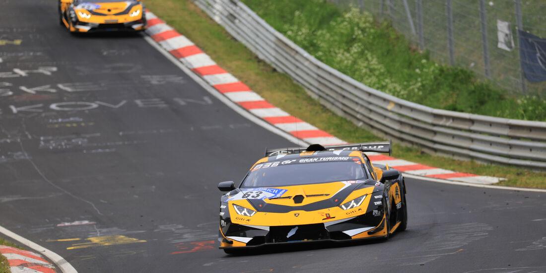 Lamborghini Huracán Super Trofeo Evo - Startnummer #63 - 24h-Rennen Nürburgring - Nordschleife - Samstag - 12.5.2018