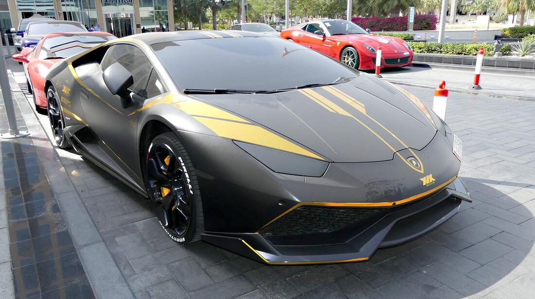 Lamborghini Huracan - Carspotting - GP Abu Dhabi 2016