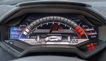 Lamborghini Huracan Performante Cockpit