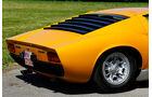 Lamborghini Miura P 400, Heckpartie