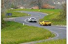 Lamborghini Miura P 400 SV, Lamborghini Huracán, Heckansicht