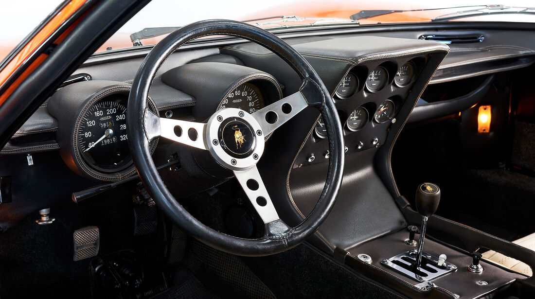 Lamborghini Miura P400 Italian Job