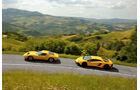 Lamborghini Miura und Aventador, Impressionen, Generationen-Treffen