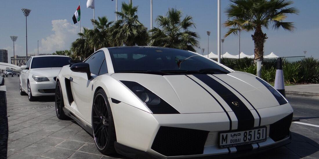 Lamborghini - Scheich Autos - GP Abu Dhabi 2012
