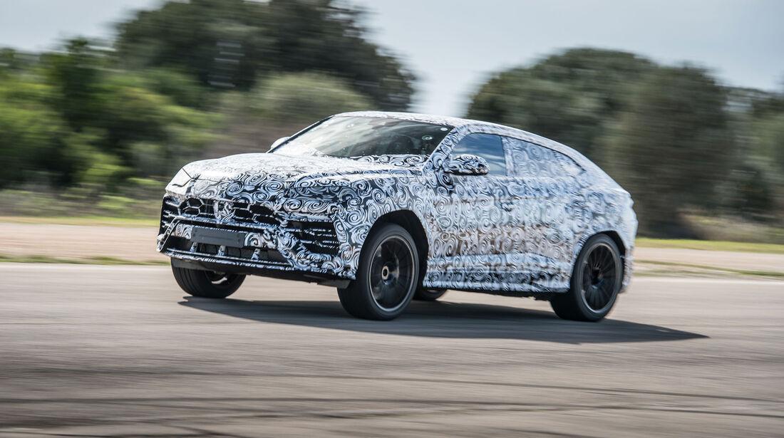 Lamborghini Urus (2018) - SUV - Fahrbericht - Prototyp